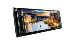 DVD Kenwood 2 Din Ddx771wbt Bluetooth HDMI/USB -Compatível Toyota e Nissan