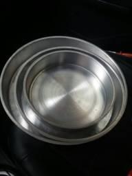 Formas de alumínio redondas