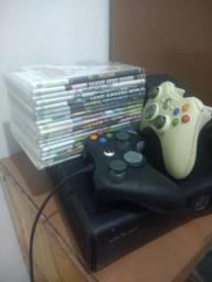 Xbox 360 slim destravado comprar usado  Recife