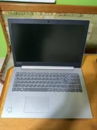 Notebook lenovo impecavel i3 6006, 4gb de memoria e hd 500gb tela 15 polegadas