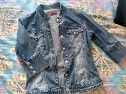 Jaqueta jeans feminina adulta