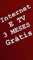 Internet e Tv grátis