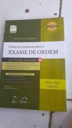 + de 9 livros usados para estudar para o teste da OAB