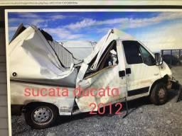 Sucata fiat ducato 2012 motor caixa suspensão - 2012
