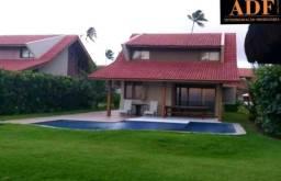CA - Bangalô beira-mar 4 quartos no Oka Beach Residence em Porto de Galinhas