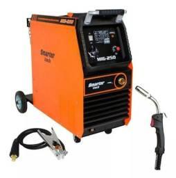 Máquina De Solda Mig 250a 220v Mono Com Tocha Smarter