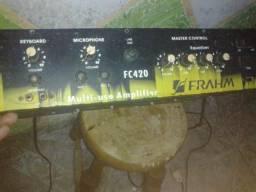 Amplificado caixa amplificada