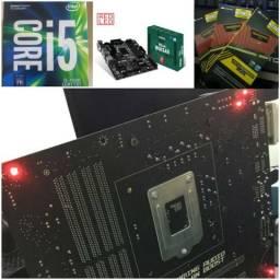 Kit I5 7500 + 12GB RAM + MSI B150M Mortar