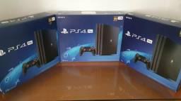 PS4 Pro 7215B (Nova Placa) Novo lacrado aceitamos PS3,PS4 slim ou PS4 FAT 1215 mais volta