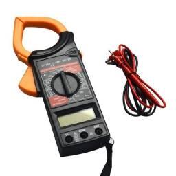 Alicate Amperímetro Multímetro Digital Dg266