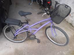 Bike Caloi aro 26 quadro feminino