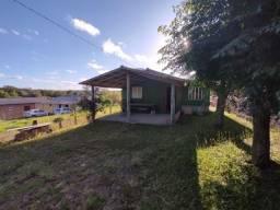 Velleda oferece B.A.R.B.A.D.A terrenão arborizado com casa, 350 mts asfalto