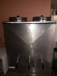 Cafeteira Marchesoni Profissional 50L Inox duplo reservatório