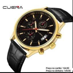 Relógio masculino importado original Cuena cronógrafo premium