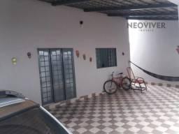 Casa à venda com 2 dormitórios em Lorena parque, Goiânia cod:475