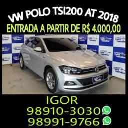 Promoção! Polo Tsi 200 Aut. 2018 com Igor na RAFA VEICULOS! - 2018