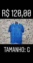 Camisa da itália oficial