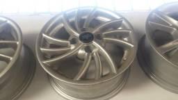 Roda aro 14 stylin Prata Chevrolet Celta 4X100 jogo Novo