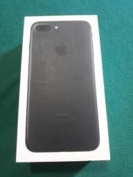Caixa com Manual iPhone 7 Plus preto