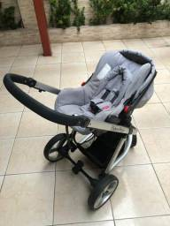 Carrinho Fisher price + bebê conforto Fisher price