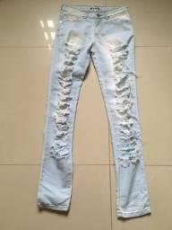 Calça jeans feminina tamanho 38