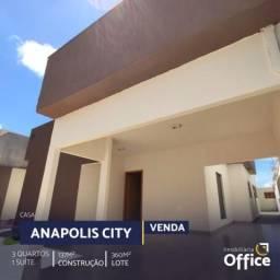 Casa com 3 quartos - bairro anápolis city em anápolis