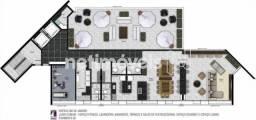Apartamento à venda com 1 dormitórios em Lourdes, Belo horizonte cod:712491
