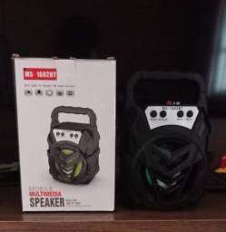 Caixa de som Bluetooth MS - 1602BT