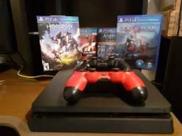 Playstation 4 Slim na caixa