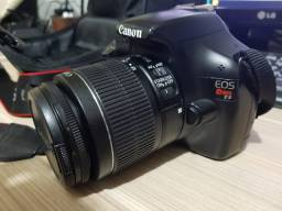 Canon EOS Rebel T3 + lente 18-55mm Profissional