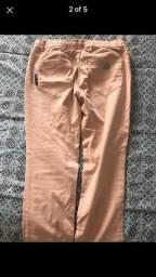 Calça Ellus Nude/rosada