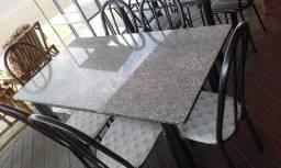 Mesa de jantar nova 6 cadeiras