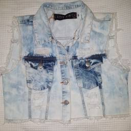 Colete jeans LadyRock novo