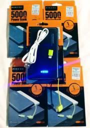 Carregador portátil de ótima qualidade, novo na caixa!!!