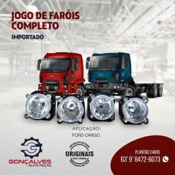 JOGO DE FARÓIS COMPLETO IMPORTADO FORD CARGO