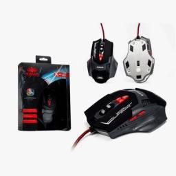 Mouse Gamer LED 2500 DPI 7 Botoes knup KP-X2 kp-x2 knup