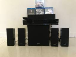 Home theater blu-ray Sony semi novo, lê dvd tambem