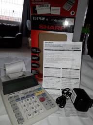 Calculadora Impressora Eletronica Sharp EL- 1750V