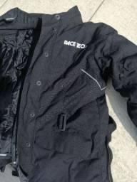 Jaqueta e calça feminina motociclista nunca usadas