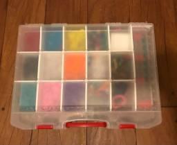Kit completo de fazer pulseiras