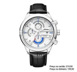 Relógio masculino importado original Faerduo luxo cronógrafo exclusivo