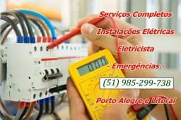 Instalações Elétricas Porto Alegre Manutenção Reparo