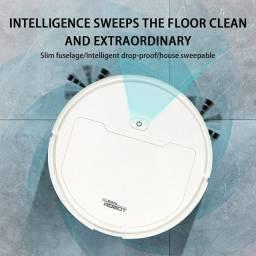 Robô de Limpeza Aspirador de Pó Inteligente Cleaner Vaccum