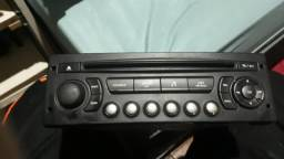 Radio toca cd para carros