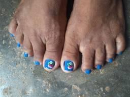 Manicure e pédicure