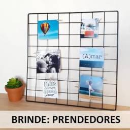 Painel de Fotos / Grade de recados / memory grid x 12x R$ 7,29 x Entrega Grátis