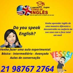 Aulas de Inglês online no conforto da sua casa