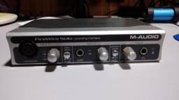 M-audio Firewire Solo - Interface Placa De Audio Firewire
