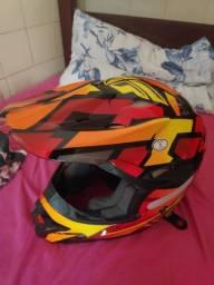 Capacete para motocross fly
