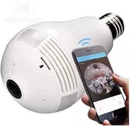 Título do anúncio: Câmera Lâmpada WI-FI acompanhamento direto pelo celular